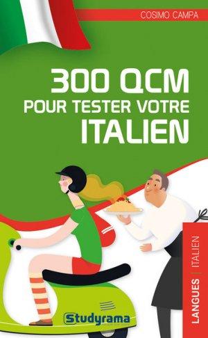 300 QCM pour tester votre italien - Studyrama - 9782759041220 -
