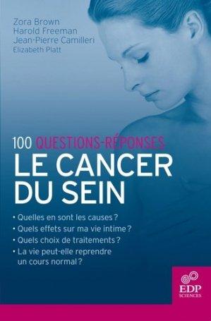 100 questions-réponses Le cancer du sein - edp sciences - 9782759800803 -