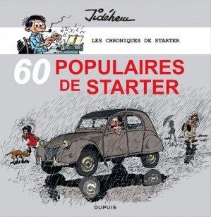 60 populaires de Starter - dupuis - 9782800157900 -