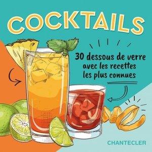 30 dessous de verre à cocktails - Chantecler - 9782803460045 -