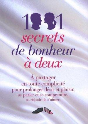 1001 secrets de bonheur à deux - Prat Editions - 9782809502190 -