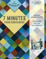 7 minutes pour convaincre - prisma - 9782810427727