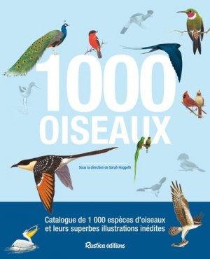 1000 oiseaux - rustica - 9782815308854 -