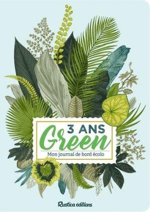 3 ans green - rustica - 9782815312356 -