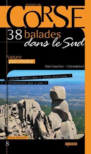 38 balades dans le sud de la Corse - Albiana - 9782824109657 -