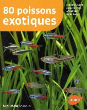 80 poissons exotiques - ulmer - 9782841389933 -