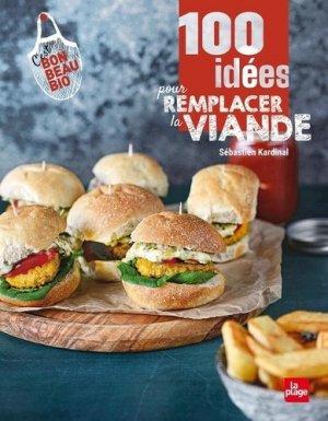 100 idées pour remplacer la viande - La Plage - 9782842217709 -