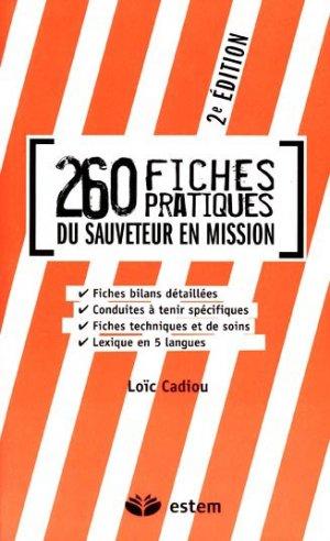 260 fiches pratiques du sauveteur en mission - estem - 9782843714740 -