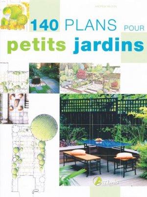 140 plans pour petits jardins - artemis - 9782844166593