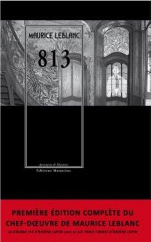 813 - Editions Manucius - 9782845787230 -