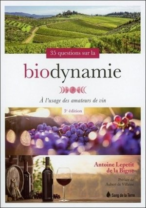 35 questions sur la biodynamie - sang de la terre - 9782869853645 -