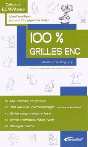 100 % Grilles ENC - medicilline - 9782915220513 -