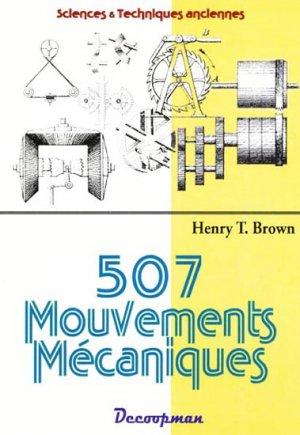 507 Mouvements mécaniques - decoopman - 9782917254103 -