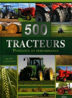 500 Tracteurs - komet - 9783625001652 -