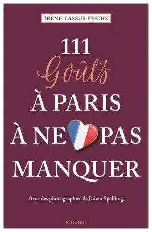 111 goûts à Paris à ne pas manquer - Emons Verlag - 9783740807139 -