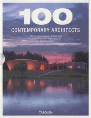100 Contemporary Architects - taschen - 9783836549486 -