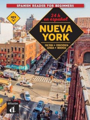 24 horas en espanol - nueva york - maison des langues - 9788417260729 -