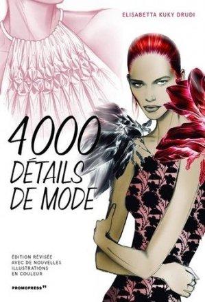 4000 détails de mode - promopress - 9788417412708 -