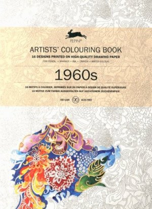 1960's Artists' Colouring Book - pepin press - 9789460098031 -