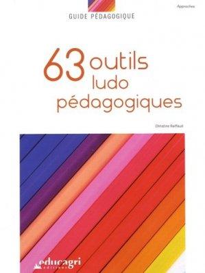 63 outils ludo-pédagogiques - Educagri - 9791027501717 -