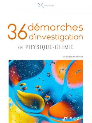36 démarches d'investigation en physique-chimie - Educagri - 9791027501908 -