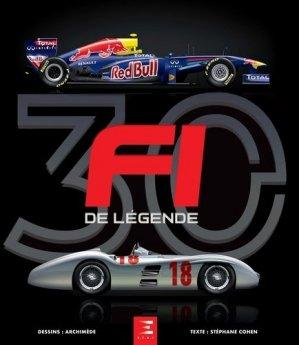 30 F1 de légende - etai - editions techniques pour l'automobile et l'industrie - 9791028304454 -