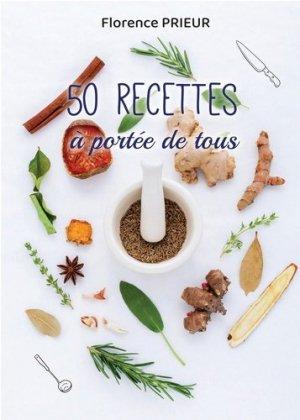 50 recettes à portée de tous - Bookelis - 9791035935467 -