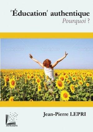 'Education' authentique - Myriadis - 9791093408194 -