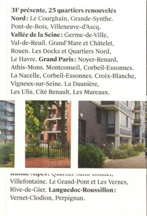 3F présente, 25 quartiers renouvelés - aha - 9791095126003 -