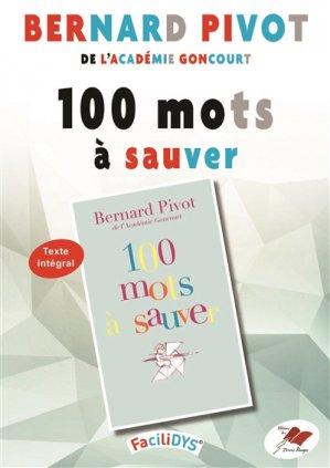 100 mots à sauver - Terres Rouges - 9791096537310