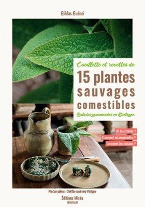 15 plantes sauvages comestibles en Bretagne - bow-window - 9791096740109 -