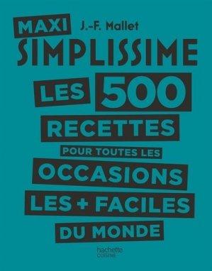 Maxi Simplissime - Hachette - 9782019456665 -