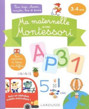 Ma maternelle avec Montessori - Larousse - 9782035987174 -