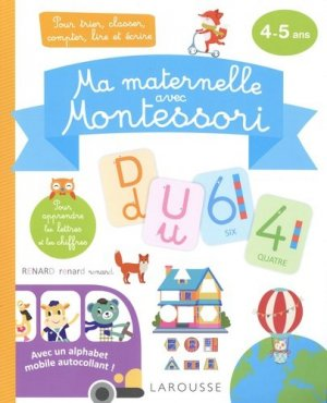 Ma maternelle avec Montessori - Larousse - 9782035987181 -