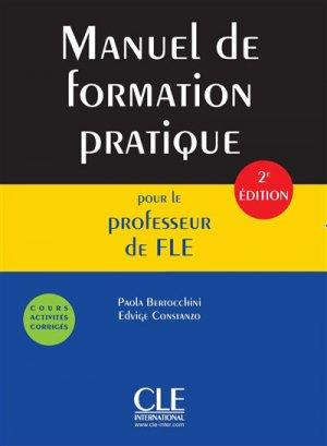Manuel de formation pratique pour le professeur de FLE - cle international - 9782090382426 -