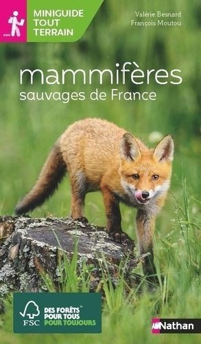 Mammifères sauvages de France - Nathan - 9782092789841 -