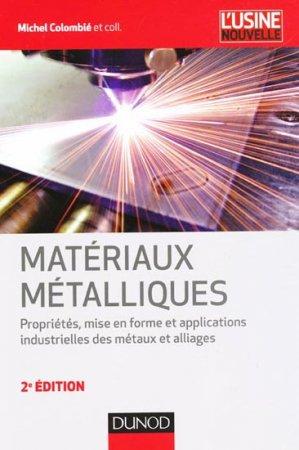 Matériaux métalliques - dunod - 9782100579655 -