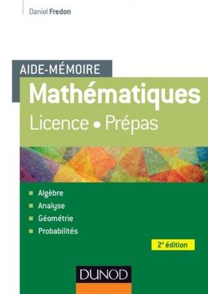 Mathématiques - dunod - 9782100710430 -