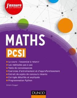 Maths PCSI - dunod - 9782100749119 -