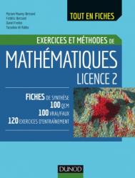 Mathématiques Licence 2 - dunod - 9782100754205 -