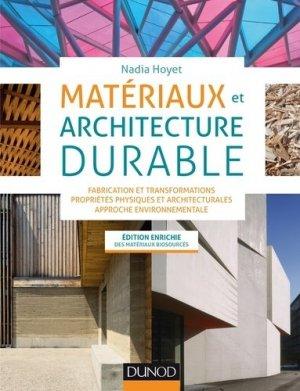 Matériaux et architecture durable - dunod - 9782100760244 -