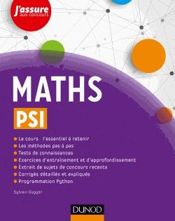 Maths PSI - dunod - 9782100762217 -