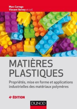 Matières plastiques - dunod - 9782100764778 -