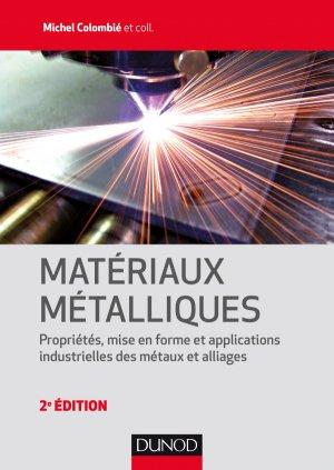 Matériaux métalliques - dunod - 9782100766000 -