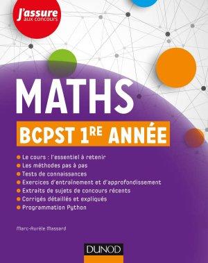 Maths BCPST 1 - dunod - 9782100775491 -