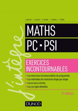 Maths PC - PSI - dunod - 9782100776627