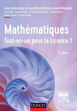 Mathématiques Tout-en-un pour la Licence 1 - dunod - 9782100782789