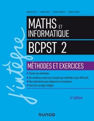 Mathématiques et informatique 2e année - dunod - 9782100790432 -