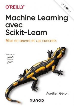 Machine Learning avec Scikit-Learn - dunod - 9782100790654
