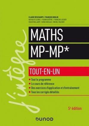 Mathématiques MP-MP* tout-en-un - dunod - 9782100801220 -